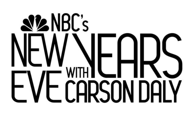 "NBC's NEW YEARS EVEN WITH CARSON DALY -- Pictured: ""NBC's New Year's Even with Carson Daly"" Logo -- NBC Photo"