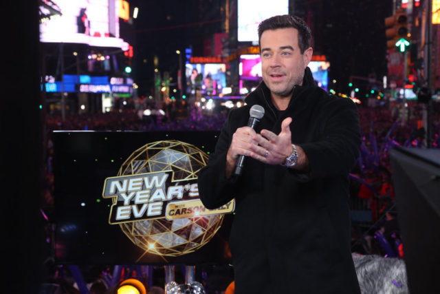 NBC'S NEW YEARS EVE WITH CARSON DALY -- Live Show -- Pictured: Carson Daly -- (Photo by: Rob Kim/NBC)