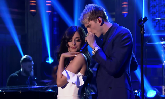 Camilla Cabello Machine Gun Kelly Complicated Tonight Show Video