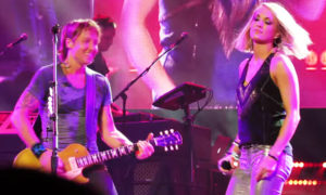 American Idol's Keith Urban, Carrie Underwood Duets Downunder (VIDEO)