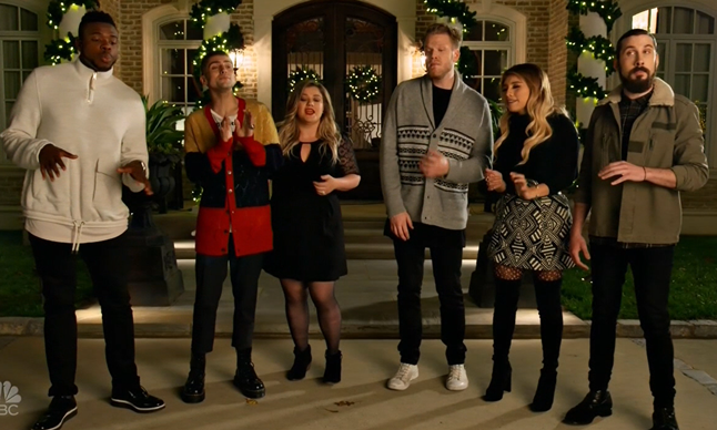 A Home For Christmas.Kelly Clarkson Pentatonix I Ll Be Home For Christmas Video