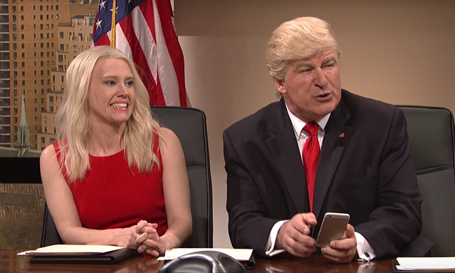 Donald Trump Tweet Cold Open Saturday Night Live SNL