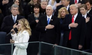 Watch Jackie Evancho Sing the National Anthem at Trump Inaugural (VIDEO)