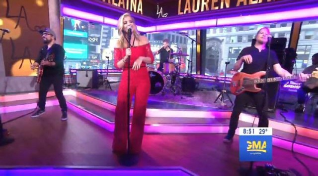 lauren alaina good morning america