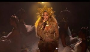 Beyonce Goes Earth Mother 2017 Grammy Awards Performance (VIDEO)