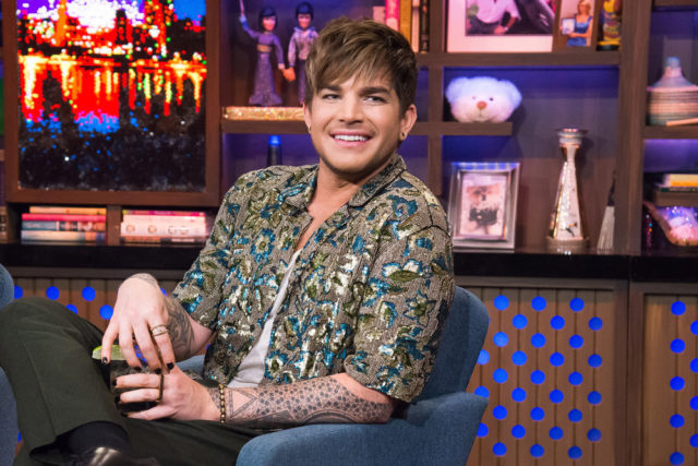 WATCH WHAT HAPPENS LIVE WITH ANDY COHEN -- Episode 14032 -- Pictured: Adam Lambert -- (Photo by: Charles Sykes/Bravo)