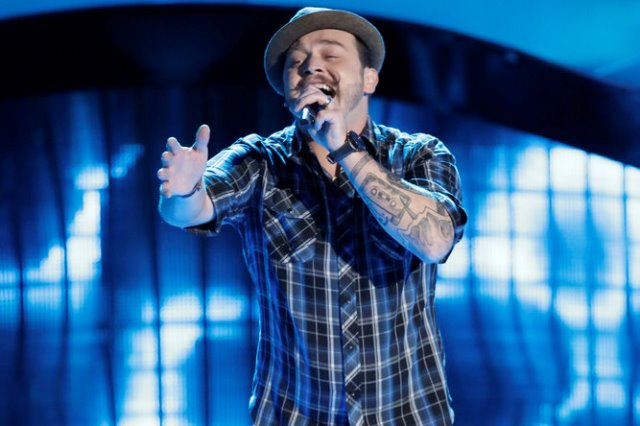 """THE VOICE -- """"Blind Auditions"""" -- Pictured: Kenny P -- (Photo by: Tyler Golden/NBC)"""
