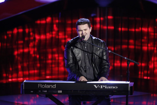 "THE VOICE -- ""Blind Auditions"" -- Pictured: Jack Cassidy -- (Photo by: Tyler Golden/NBC)"