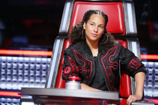 "THE VOICE -- ""Battle Rounds"" -- Pictured: Alicia Keys -- (Photo by: Trae Patton/NBC)"