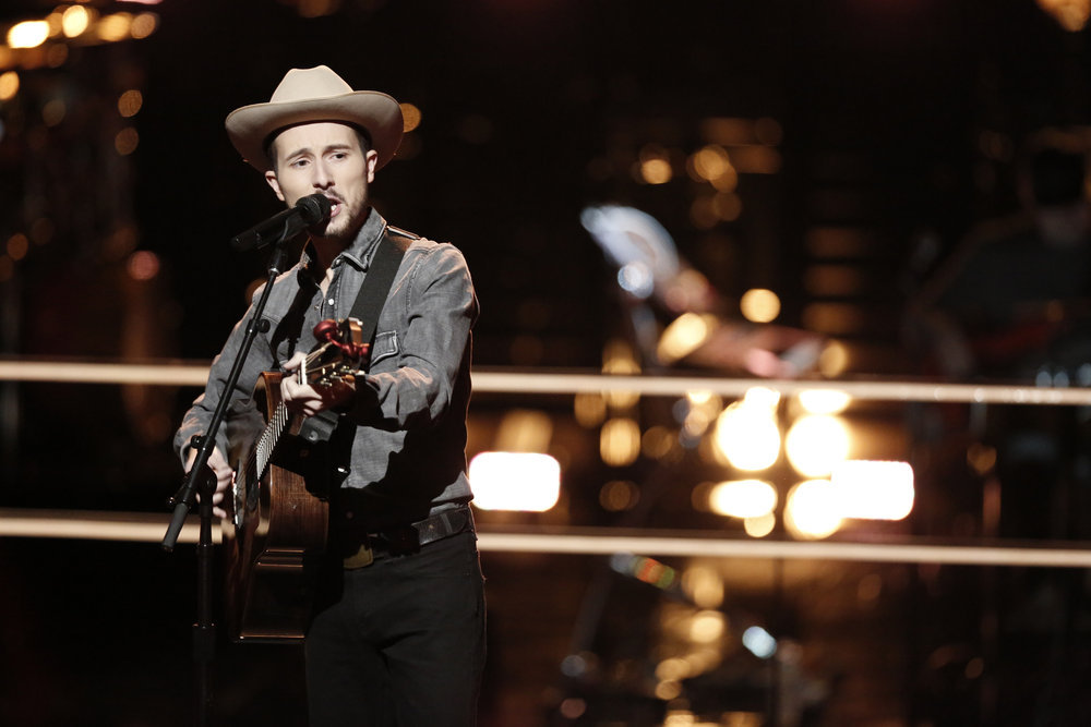 """THE VOICE -- """"Battle Rounds"""" -- Pictured: Taylor Alexander -- (Photo by: Tyler Golden/NBC)"""