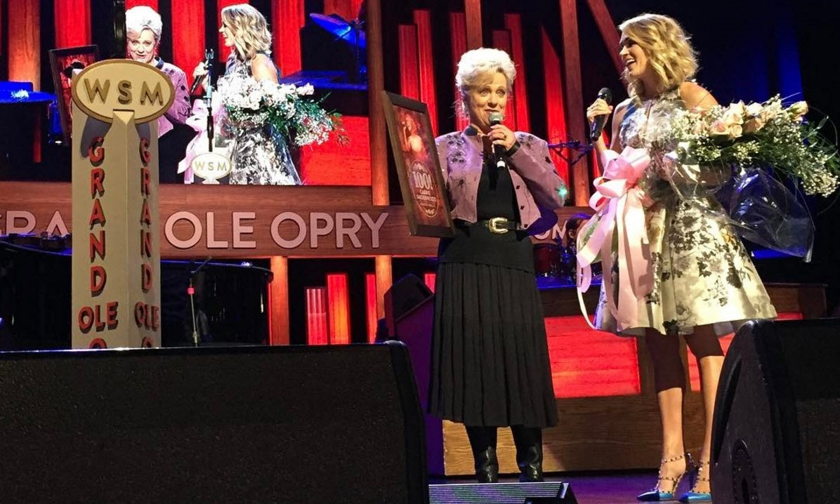 carrie underwood grand ole opry 100 performances