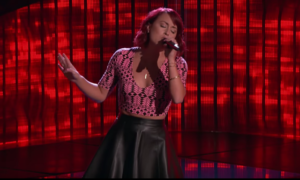 "Casi Joy The Voice 12 Blind Audition Sings ""Blue"" (VIDEO)"