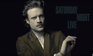 Father John Misty SNL Performances: 'Total Entertainment Forever' 'Pure Comedy' (VIDEO)