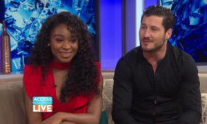 Normani Kordei's DWTS Partner Val Headed To Asia with Fifth Harmony (VIDEO)