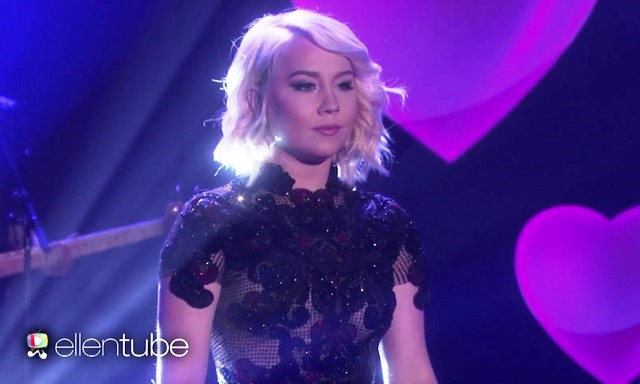 The Voice RaeLynn performs Love Triangle on the Ellen Show