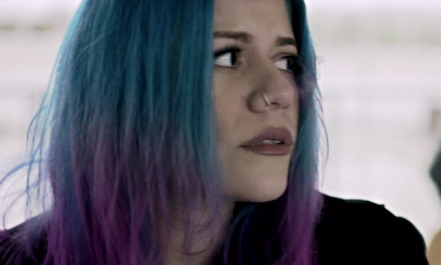 allison iraheta halo circus bandaid video