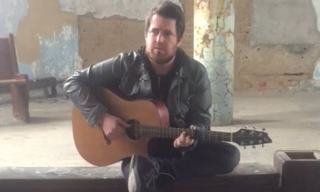 lee dewyze paranoia music video