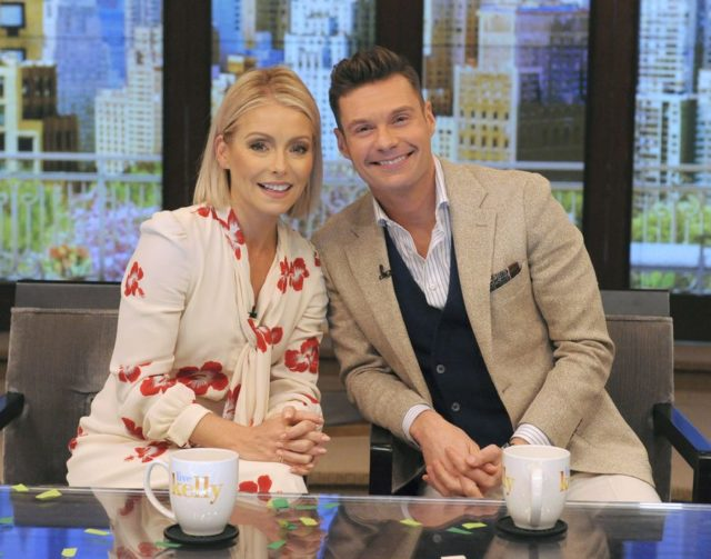 Ryan Seacrest Kelly Ripa Live with Kelly and Ryan