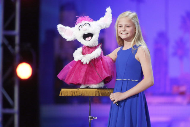 AMERICA'S GOT TALENT -- Auditions Pasadena Civic Auditorium -- Pictured: Darci Lynne -- (Photo by: Trae Patton/NBC)