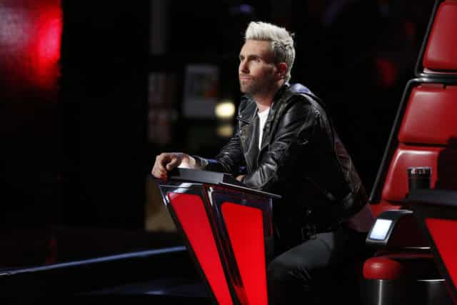 "THE VOICE -- ""Live Semi Finals"" Episode: 1218B -- Pictured: Adam Levine -- (Photo by: Trae Patton/NBC)"
