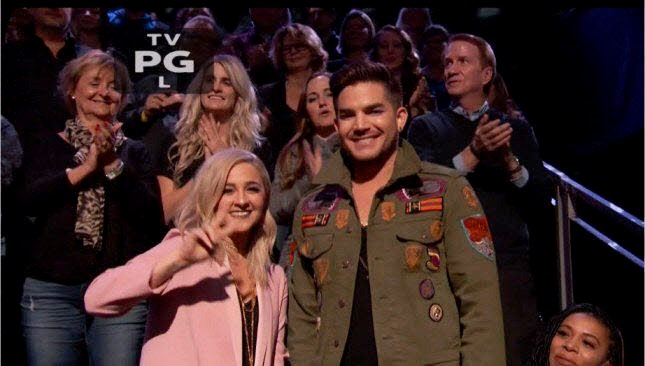 alisan porter adam lambert the voice collaboration