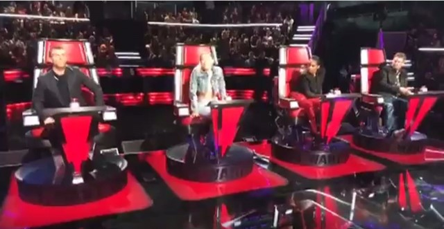 The Voice 13 Blind Auditions Filming