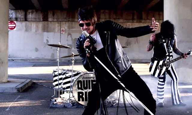 James Durbin Quiet Riot Can't Get Enough Music Video