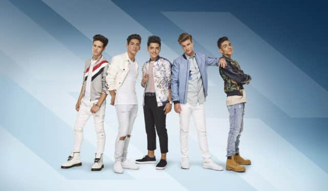 "BOY BAND - Hollywood Records has signed ""In Real Life,"" the brand-new group comprised of the final five boys who received America's vote on ABC's hit show ""Boy Band."" (Hollywood Records) MICHAEL CONOR, CHANCE PEREZ, SERGIO CALDERON, BRADY TUTTON, DREW RAMOS"