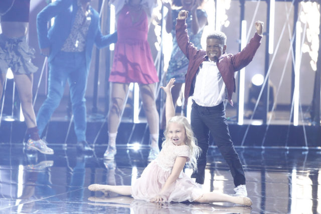 """AMERICA'S GOT TALENT -- """"Live Show 1"""" -- Pictured: Artyon and Paige -- (Photo by: Trae Patton/NBC)"""
