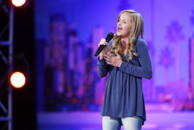 AMERICA'S GOT TALENT -- Auditions Pasadena Civic Auditorium -- Pictured: Evie Clair -- (Photo by: Trae Patton/NBC)