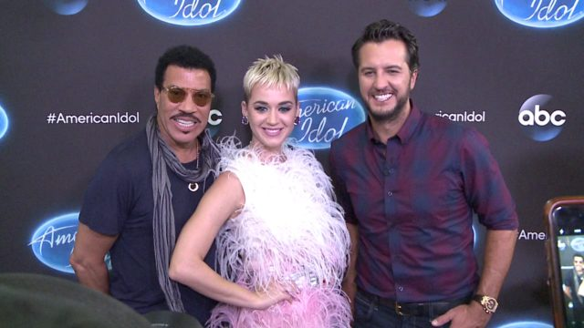 Lionel Richie Katy Perry Luke Bryan American Idol 16 New Orleans auditions