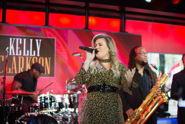 TODAY -- Pictured: Kelly Clarkson on Monday, October 30, 2017 -- (Photo by: Nathan Congleton/NBC)