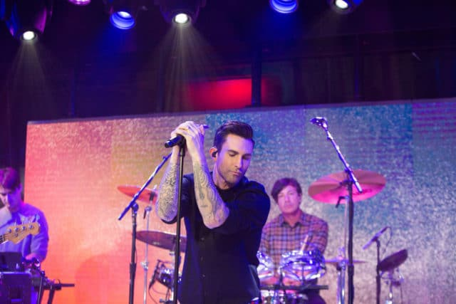 TODAY -- Pictured: Maroon 5 on Thursday, November 2, 2017 -- (Photo by: Nathan Congleton/NBC)