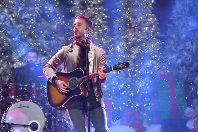 Nick Fradiani Hollywood Christmas Parade