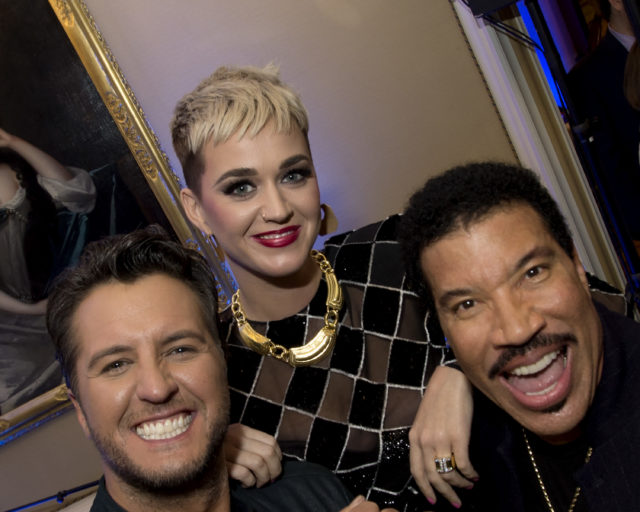 "TCA WINTER PRESS TOUR 2018 - ""American Idol"" Happy Hour - The cast and executive producers of ""American Idol"" addressed the press at Disney 