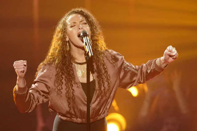 "THE FOUR: BATTLE FOR STARDOM: Challenger Cheyenne Elliott in the ""Week Two"" episode of FOX's all-new singing competition series, THE FOUR: BATTLE FOR STARDOM airing Thursday, Jan. 11 (8:00-10:00 PM ET/PT) on FOX. CR: Greg Gayne / FOX. © 2018 FOX Broadcasting."