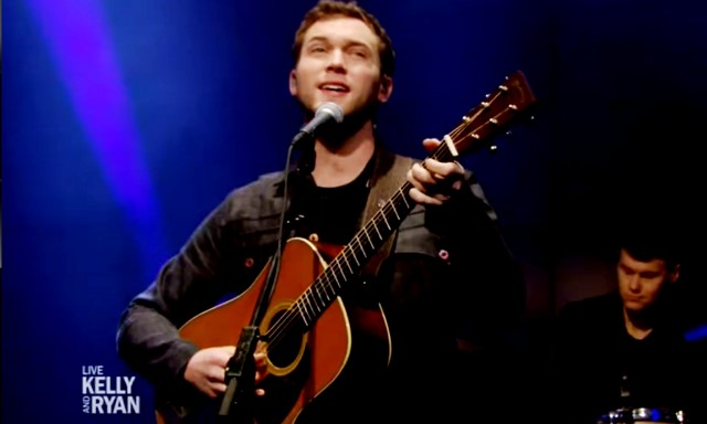 Phillip Phillips Dance with Me Kelly and Ryan