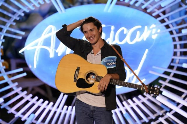 "AMERICAN IDOL - ""105 (Auditions)"" - ""American Idol"" heads to Los Angeles, Nashville, New Orleans, New York City and Savannah, as the search for AmericaÕs next superstar continues on its new home on AmericaÕs network, The ABC Television Network, SUNDAY, MARCH 25 (8:00-10:01 p.m. EDT). (ABC/Alfonso Bresciani) DRAKE MILLIGAN (FORT WORTH, TX)"