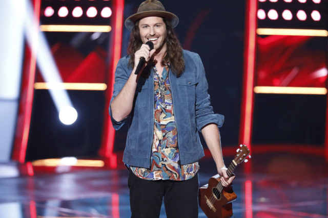 """THE VOICE -- """"Blind Auditions"""" -- Pictured: Brett Hunter -- (Photo by: Tyler Golden/NBC)"""
