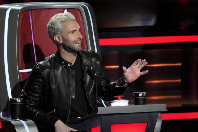 "THE VOICE -- ""Battle Rounds"" -- Pictured: Adam Levine -- (Photo by: Trae Patton/NBC)"