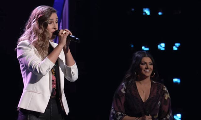 The Voice Knockouts - Jackie Foster vs Mia Boostrom