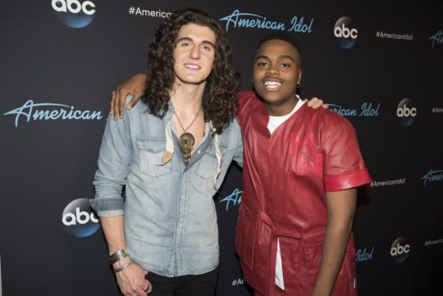 "AMERICAN IDOL - ""117 (Top 5)"" - The stakes are high as the Top 5 finalists perform in hopes of winning AmericaÕs vote and making it through to the finals, as the search for AmericaÕs next superstar continues on its new home on AmericaÕs network, The ABC Television Network, SUNDAY, MAY 13 (8:00-10:01 p.m. EDT, 5:00-7:01 p.m. PDT). (ABC/Eric McCandless) CADE FOEHNER, MICHAEL J. WOODARD"