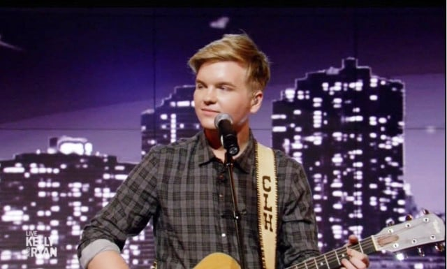 Caleb Lee Hutchinson Live with Kelly and Ryan