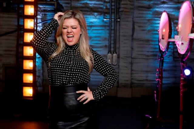 "BILLBOARD MUSIC AWARDS -- ""Press Junket"" -- Pictured: Kelly Clarkson -- (Photo by: Trae Patton/NBC)"