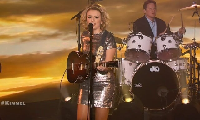 American Idol's Maddie Poppe performs Jimmy Kimmel Live