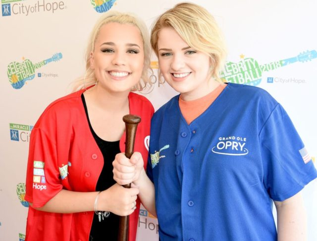 NASHVILLE, TN - JUNE 09: Gabby Barrett (L) and Maddie Poppe (R) arrive at the 28th Annual City of Hope Celebrity Softball Game on June 9, 2018 in Nashville, Tennessee. (Photo by Rick Diamond/Getty Images for City Of Hope)