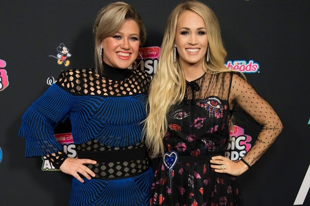 Kelly Clarkson Carrie Underwood Disney Radio Music Awards