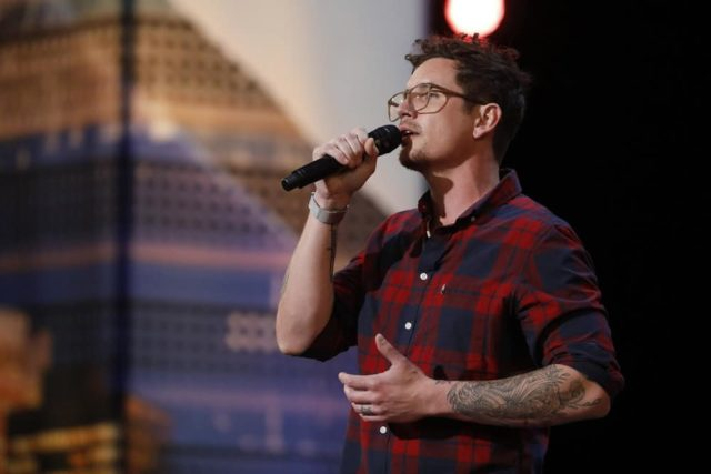 """AMERICA'S GOT TALENT -- """"Auditions 2"""" Episode 1302 -- Pictured: Michael Ketterer -- (Photo by: Trae Patton/NBC)"""