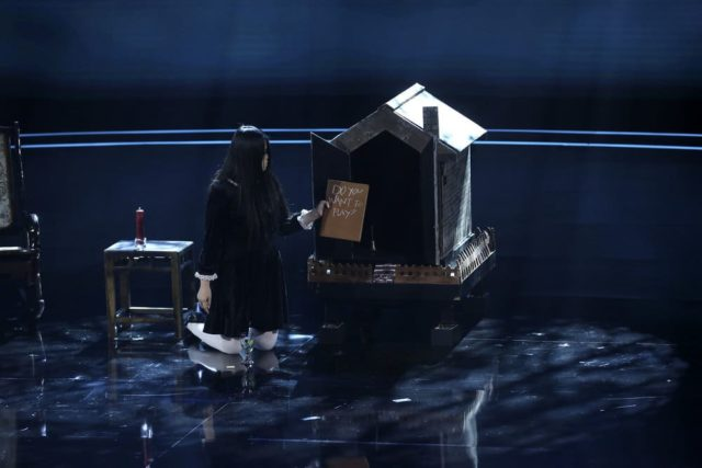 "AMERICA'S GOT TALENT -- ""Judge Cuts 3"" Episode 1309 -- Pictured: The Sacred Riana -- (Photo by: Vivian Zink/NBC)"