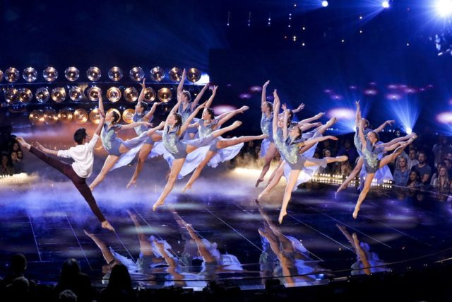 """WORLD OF DANCE -- """"The Cuts"""" -- Pictured: The Rock Company -- (Photo by: Trae Patton/NBC)"""